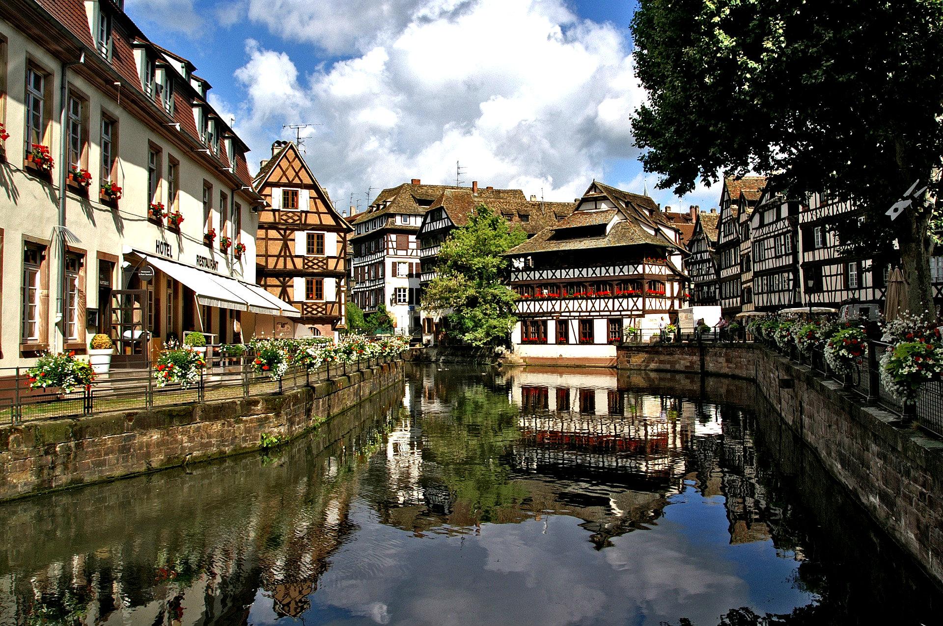canal de alsacia - Francia