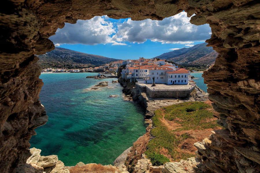 Andros - islas cicladas grecia