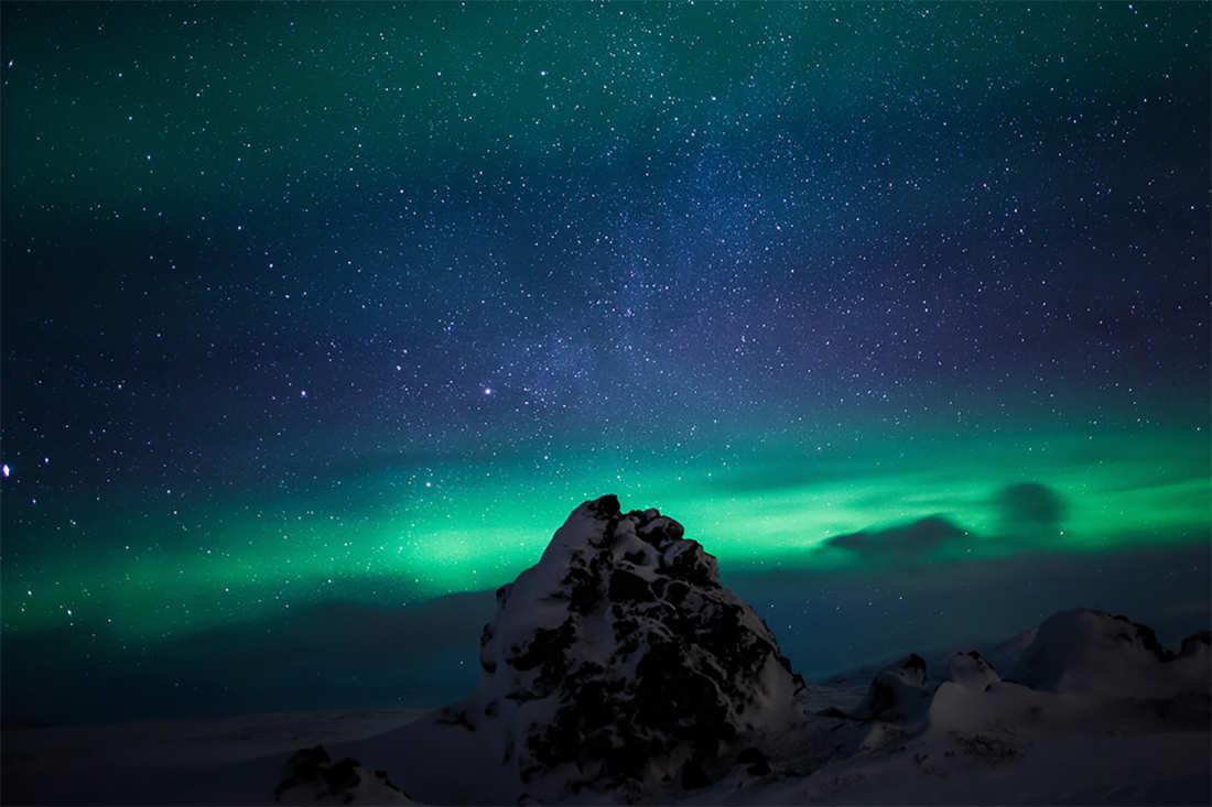 Auroras boreales - lugares mas bonitos del mundo