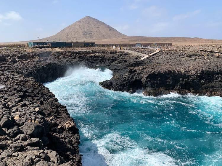 Buracona isla de sal cabo verde