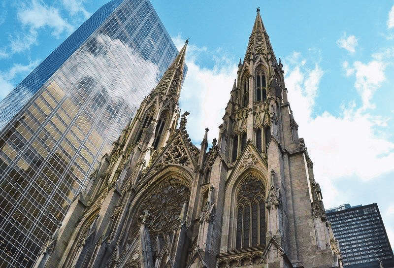 Catedral St Patricks - sitios turisticos new york