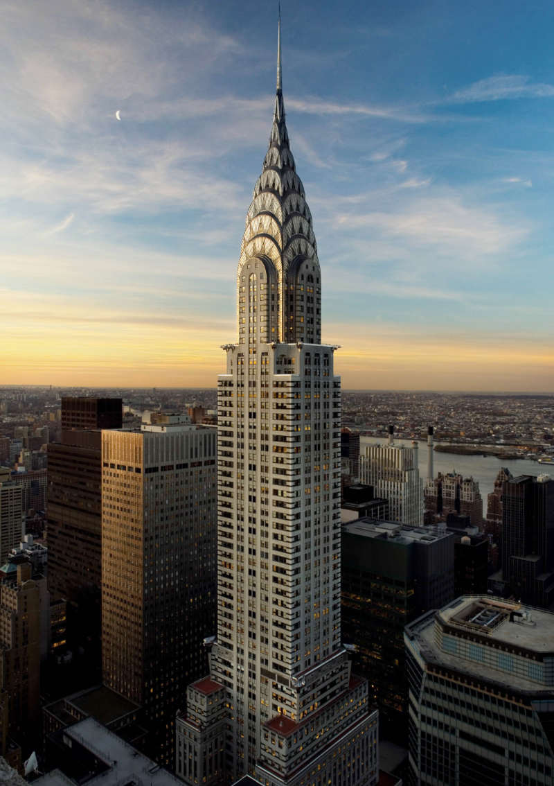 Chrysler Building - sitios turisticos en new york
