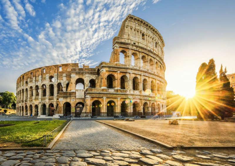 Coliseo Romano - maravillas del mundo moderno