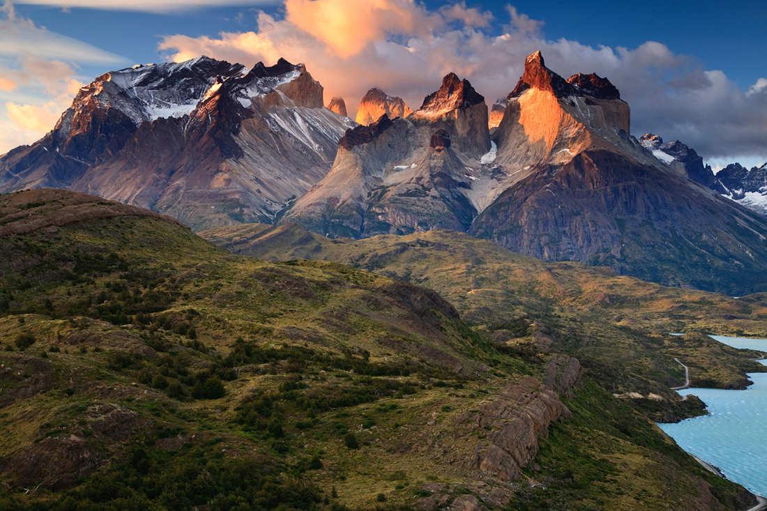 Cordillera del Paine - Paisajes mas bonitos del mundo