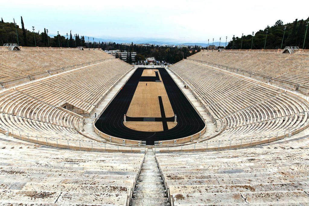 Estadio Panatenaico de Atenas, Grecia