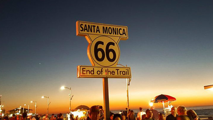 Final de la ruta 66