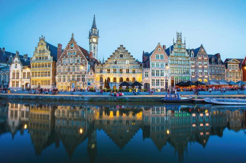 Gante Belgica - donde ir en otoño