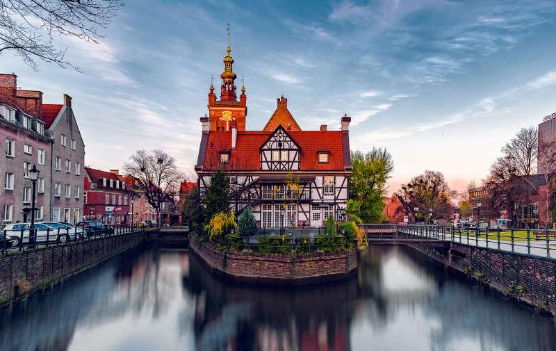 Gdansk Polonia - destinos otoño europa