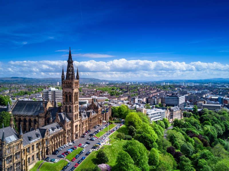 Glasgow - viajar en primavera