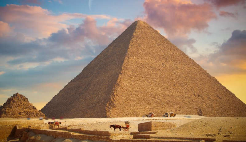 Gran Pirámide de Giza - maravillas del mundo antiguo