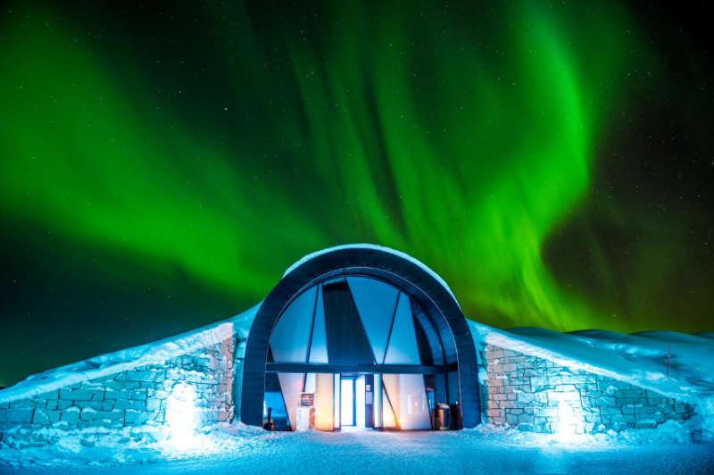 Icehotel Suecia - donde viajar en invierno