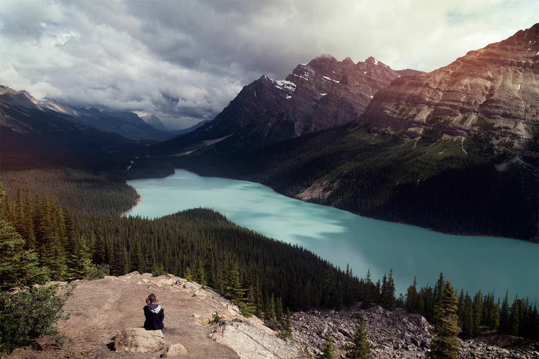 Lago Peyto- lugares mas bonitos del mundo