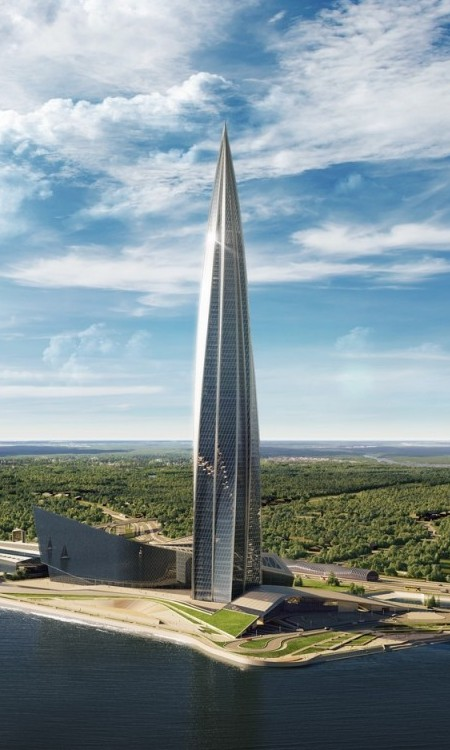 Lakhta Center edificio más alto de europa