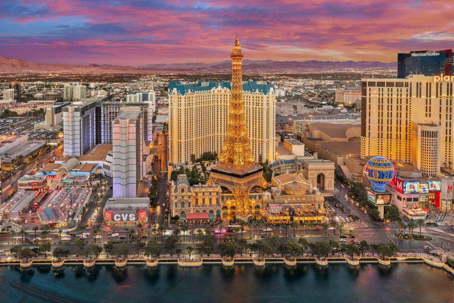 Las Vegas - mejores destinos para viajar en verano