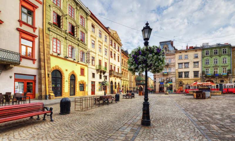 Lviv - Ucrania destinos europa baratos