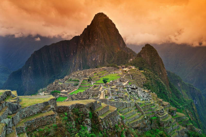 Machu Picchu - las 7 maravillas del mundo moderno