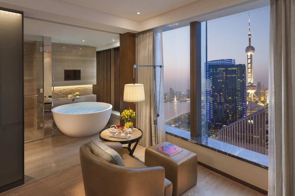 Mandarin Oriental Shanghai - hoteles mas caros del mundo