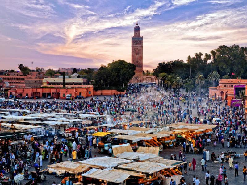 Marrakesh - viajar en primavera