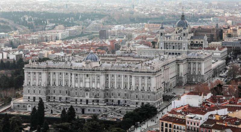 Palacio Real - destinos turisticos españa