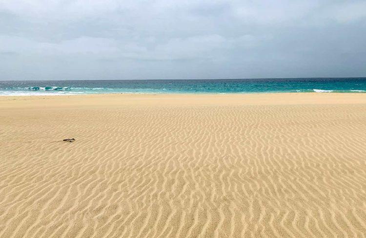 Playa Santa Maria isla de sal