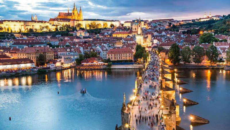 Praga - donde viajar en invierno