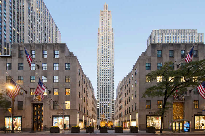Rockefeller Center - lugares para conocer en new york