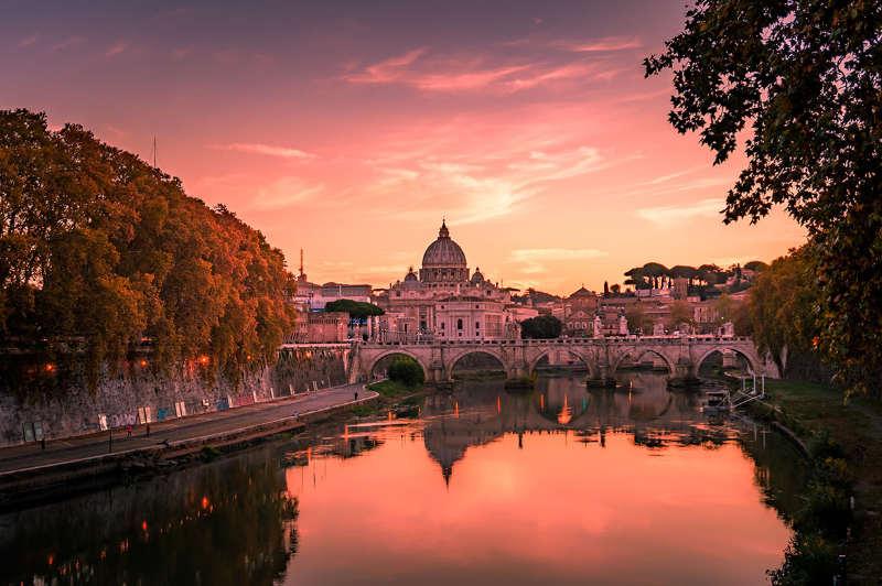 Roma - viajar en otoño