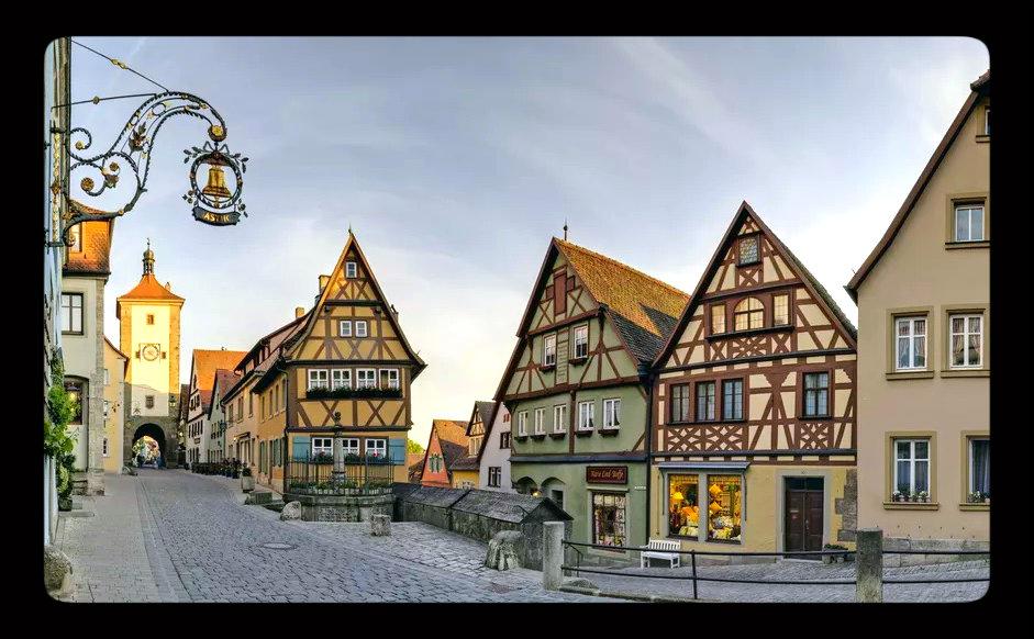 Ruta romántica Rothenburg