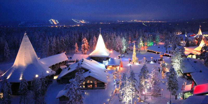 Rovaniemi-en-navidad
