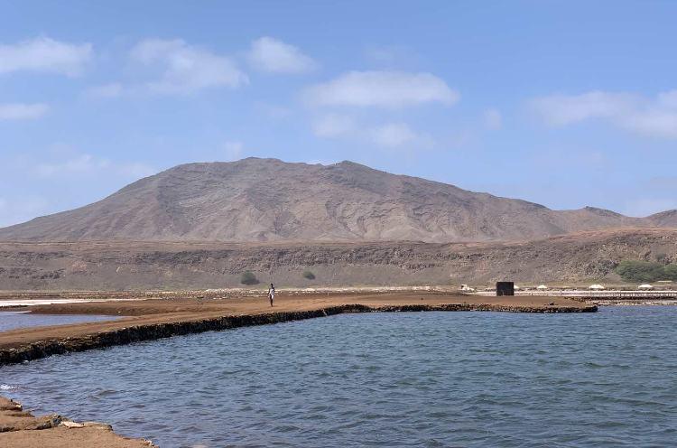 Salinas de Pedra Lume isla de sal