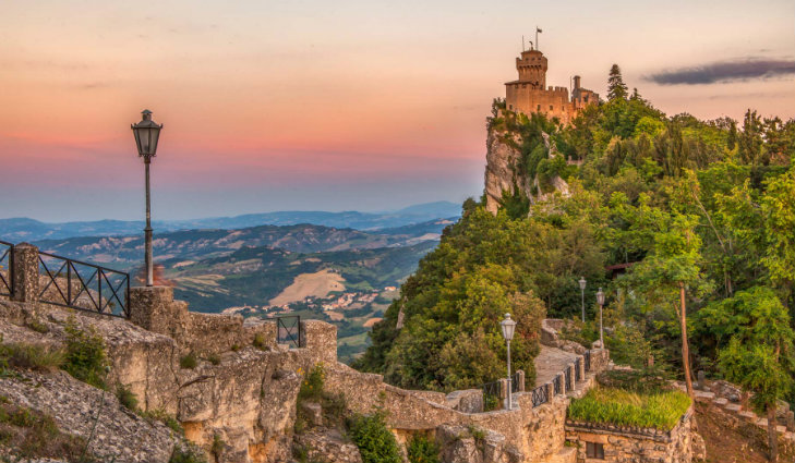 San Marino países pequeños