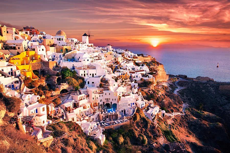 Santorini - islas cicladas grecia