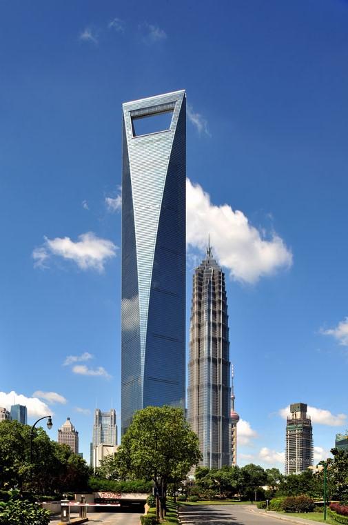 edificios más impresionantes shanghai