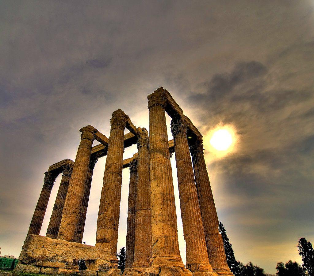 Templo de Zeus olímpico, Grecia