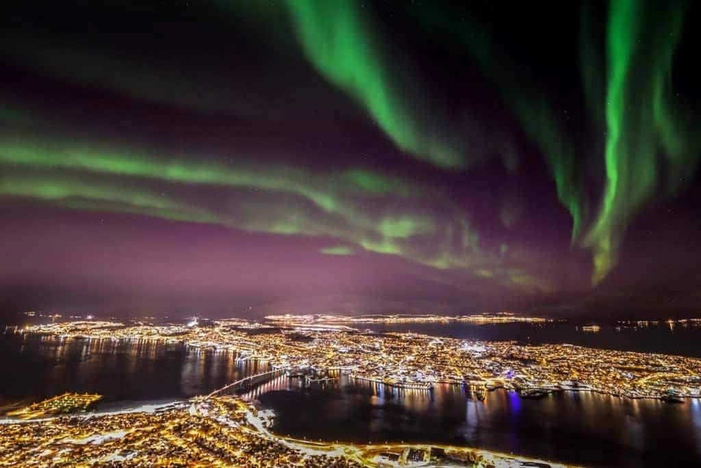 Tromsø-aurora-boreal