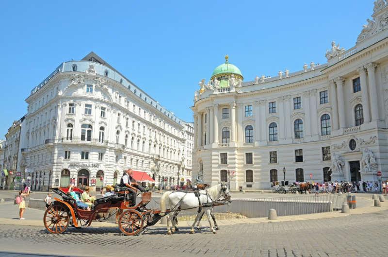Vienna Austria - donde viajar en mayo