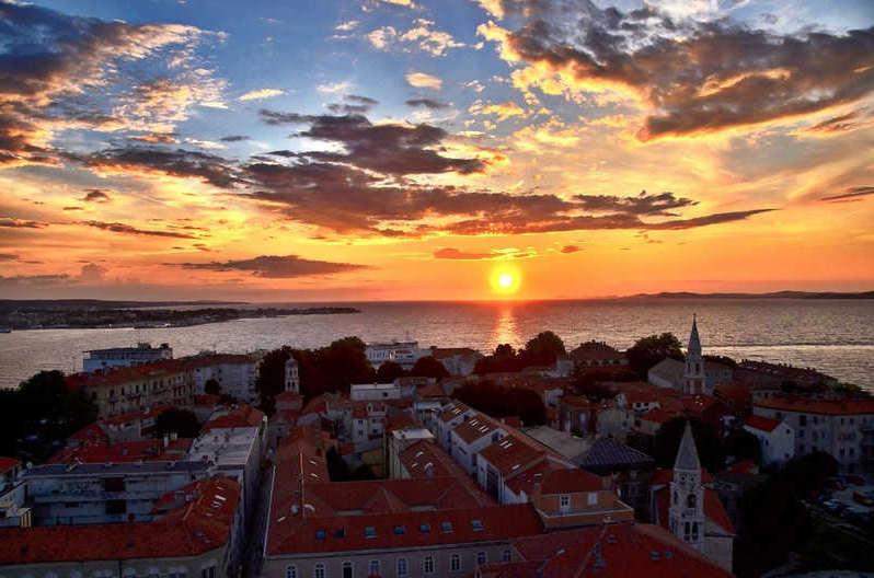 Zadar, croacia - viajar en primavera europa
