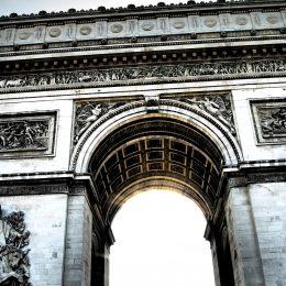 Arco del Triunfo, París.