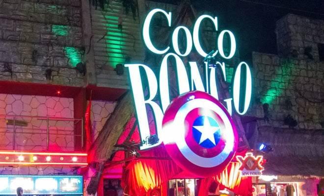 coco bongo en playa del carmen