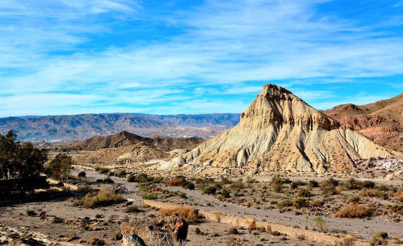desierto de tabernas - lugares turisticos en españa