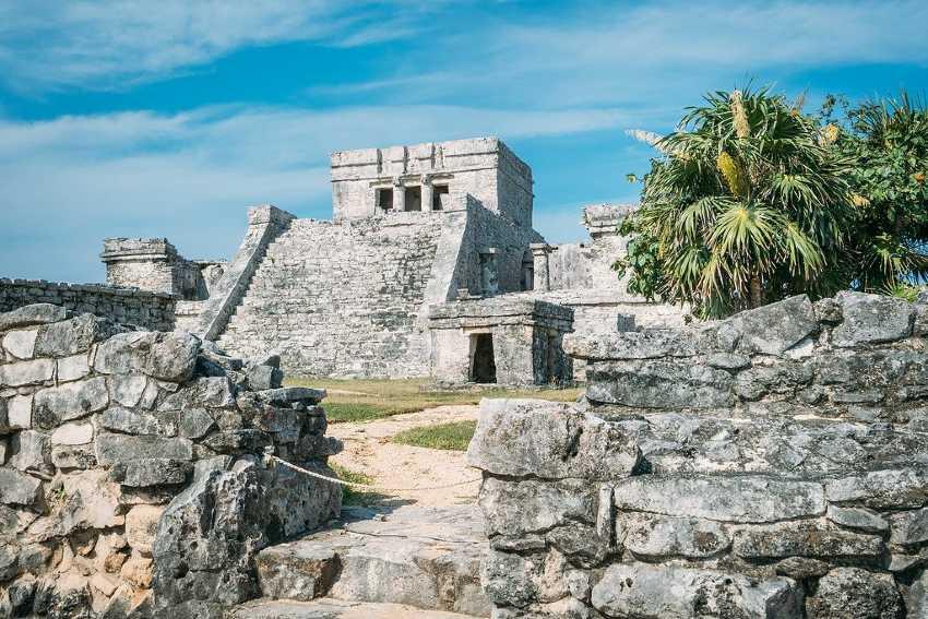 el castillo - ruinas de tulum