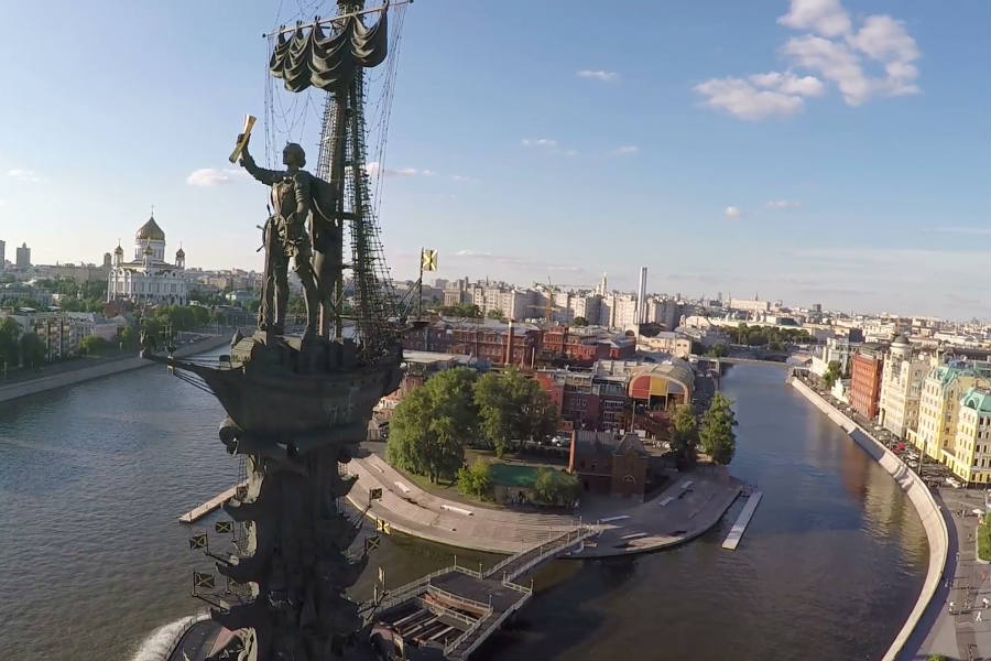 estatua de pedro el grande