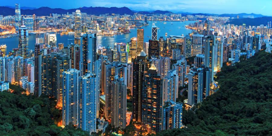 hong kong pib capita