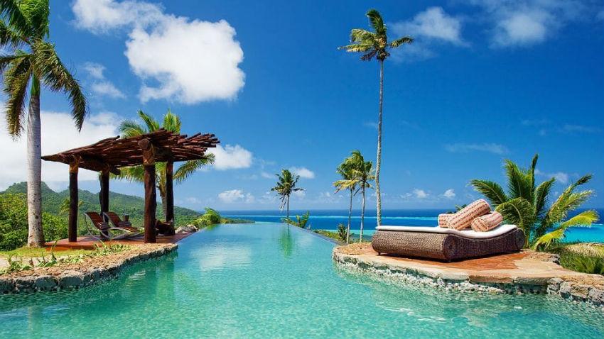 hoteles de siete estrellas laucala island resort
