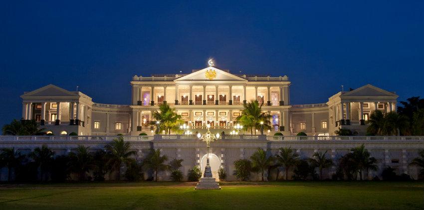 hoteles de siete estrellas taj falaknuma palace