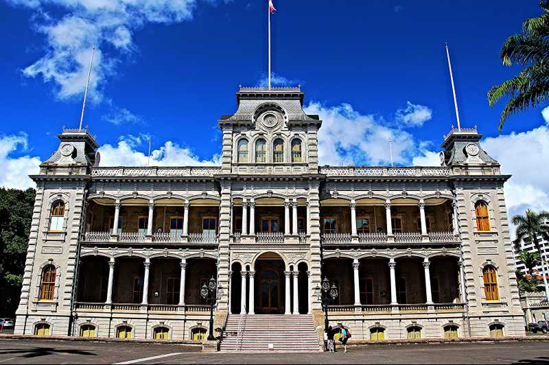 iolani palace en honolulu