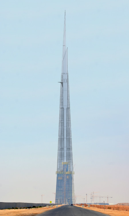 jeddah tower en construcción