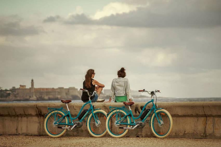 la habana en bici electrica