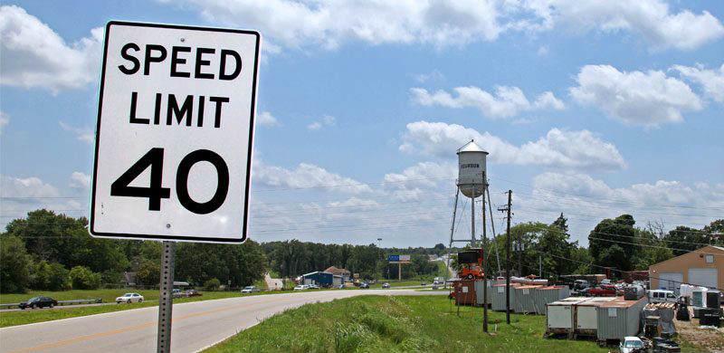 limite de velocidad estados unidos