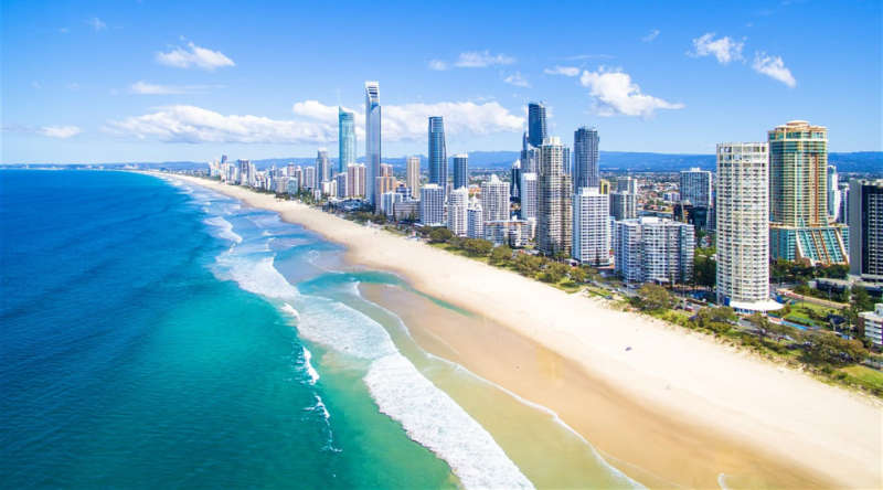luna de miel en gold coast australia